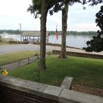 View of the Ohio River from the front porch