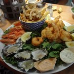 Magnificent seafood platter for two