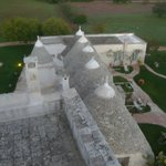 trulli viewed from the rooftop
