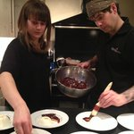David and Olivia - our excellent young chefs