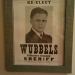 Photo of Sheriff Wubbels