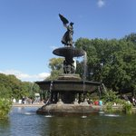 Beautiful Fountain at Central Park