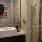 Great bathroom with steam room