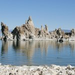 Tufa formations offshore
