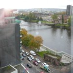 View to River Clyde from room on 10th floor