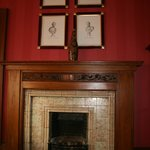 Suite 12 fireplace / decoration
