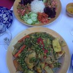 amazing tagine, great food
