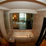 View from Bathroom - Fish eye lens