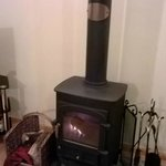 Log Fire - Wheal Towan