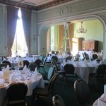 The sumptuous dining room - for parties only