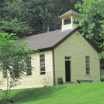 School House at Meadowcroft Historic Village - August 8, 2013