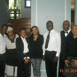 The Winston Hotel Staff & Me Rosebank, SA November 10, 2013