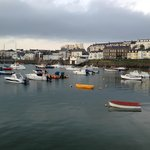 The harbor at Portrush