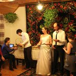 Indoor Wedding Banquet