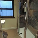 nice ensuite shower area