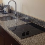 Bricco Suites electric range tops in their one and two bedroom suites