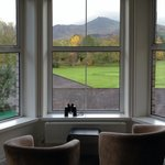 View towards Causey Pike from Room 2