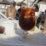 Sangria at the pool