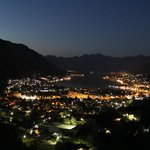 Kotor Bay View at night