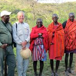 Doug, Larry & Maasai on Walking Safari