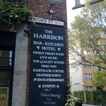 Our arrival at The Harrison.