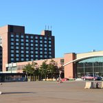 View of Hotel and attached Conference Center at Delta Prince Edward, Charlottetown, PEI