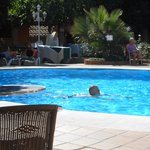 Villa Flamenca pool and gardens