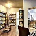 Full Service Salon & Spa - retail area