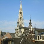 view from room grand place in morning