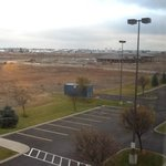 view of spokane airport from 3rd floor room.