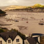 View from Conwy castle walls