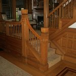 A look at the woodwork at Norumbega