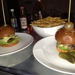 Babu Bar Burger With Balls