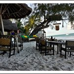 Forty Thieves Bar (on the beach, next door to Flamboyant)