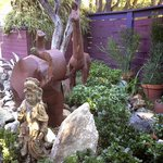 front yard sculpture