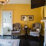 The Yellow and Black Guest Room