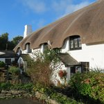 The Thatched Inn from the driveway