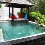 Private pool in the 2 BR Villa