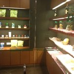 Pantry in lobby lounge.