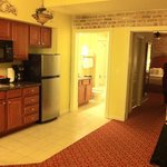 Kitchenette in one bedroom