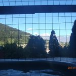 View from the hot tub!