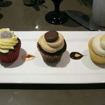 Cupcakes from DoubleTree restaurant