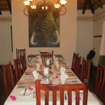 Waterbuck Lodge Dining Room