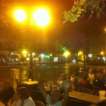 Dinner in the town square