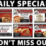 Daily Specials at Mr. Mike's Restaurant at the Shady Rest Hotel