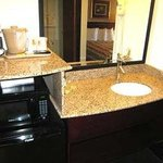 Bathroom W/Granite Vanity/Micro/Refrig