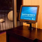 touch & go check-in kiosks
