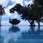 Pool at Yasawa Island Resort