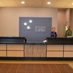 Reception Desk at the Holiday Inn Express & Suites Tacoma Downtown