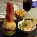 Lobster burger